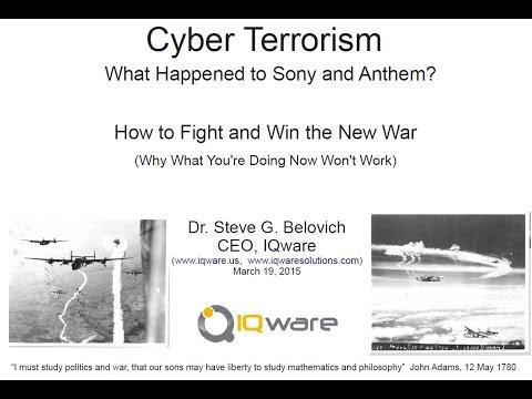IQware Cyber Terrorism Webinar