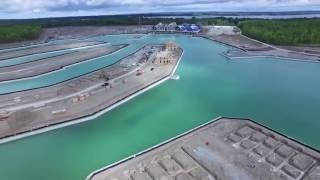 Aerial Footage of Friday Harbour Resort