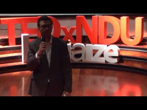 Let's bridge: An expat finds where his heart belongs | Kamal El-Hage | TEDxNDULouaize