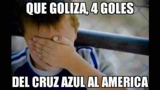 Los Mejores Memes del Cruz Azul vs America 4-0 Liga MX Apertura 2014