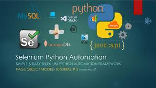 Simple and Easy Selenium Python Automation Framework  Page Object Model  Tutorial  3