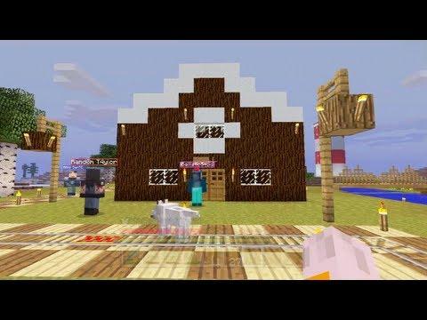 Minecraft How To Make A Cake House