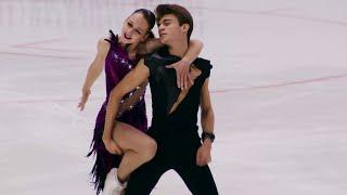 Екатерина Рыбакова Иван Махноносов Ритм танец Гран при по фигурному катаинию 2021 22