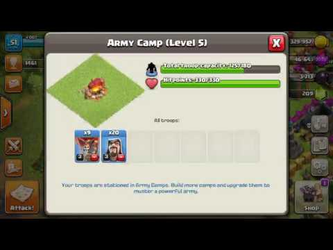 How to destroy fool's gold in clash of clans