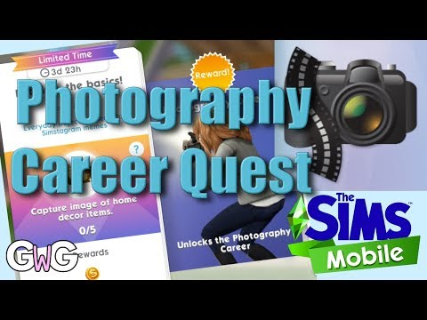 The Sims Mobile Photography Career Quest The Girl Who Games