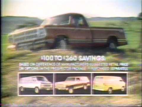 Dodge Prospector Trucks commercial 1979