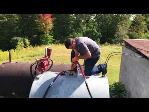 How to clean contaminated diesel tank (part 2)