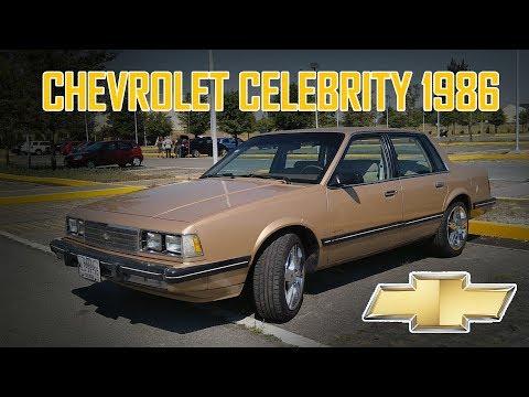 Chevrolet Celebrity 1986 - Reseña