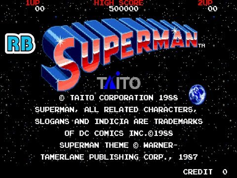 1988 [60fps] Superman DEMO