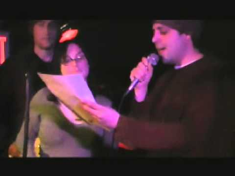Rock Star Karaoke NYC  - Steve and Mandi sing