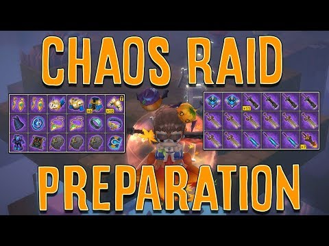 HOW TO PREPARE FOR UPCOMING CHAOS RAIDS! (DPS Build Tips + Chaos Weapon Update)