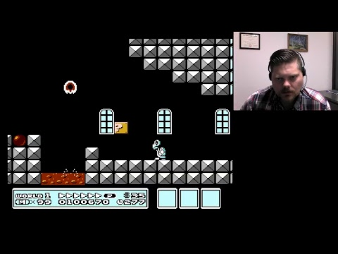 99 lives in Super Mario Bros. 3   VGHI Play 'n' Chat Live Stream