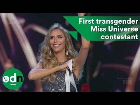 First transgender Miss Universe contestant