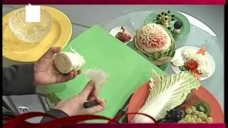 хризантема из китайской капусты(, 2014-08-20T14:34:45.000Z)