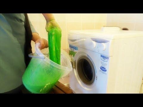 Slime Vs Washing Machine I wonder what will happen SLİME SLİME