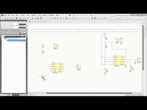 Altium Designer Tutorial: Schematic capture and PCB layout (1of2)