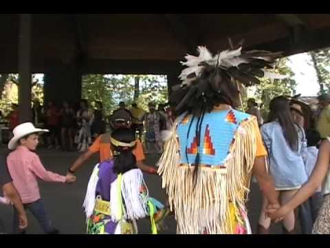 Indian Village Round Dance Calgary Stampede Youtube