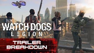 Watch Dogs: Legion E3 2019 Trailer Breakdown