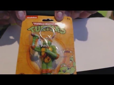 Dollar Tree Classin Ninja Turtles Keychain
