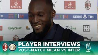 MILAN 0-2 INTER | LUKAKU + D'AMBROSIO + HANDANOVIC INTERVIEWS [SUB ENG]