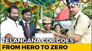 Telangana Cop Caught Taking Bribe Day After Getting Best Constable Award