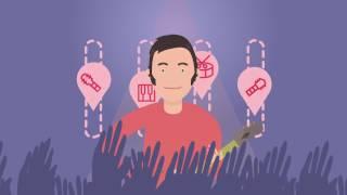 VirtualBand - Музыкальный онлайн самоучитель(Онлайн самоучитель. Научись играть на гитаре, бас-гитаре или ударных без скучных видео уроков, изучая извес..., 2016-10-30T19:16:39.000Z)