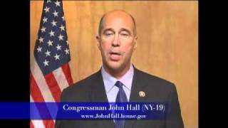 Rep. John Hall (NY-19) Statement in Support of Education Jobs and Medicaid Assistance Act