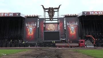 Azubi Simon Goes Wacken Teil 2 - Der Aufbau des Metal-Festivals