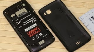 Смартфон FLY IQ4411 разбит тачскрин замена сенсора разборка
