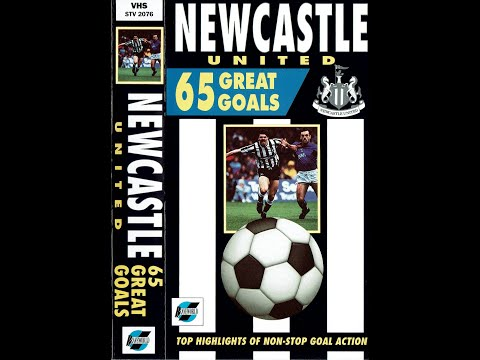 Newcastle United NUFC 65 Great Goals (1990)