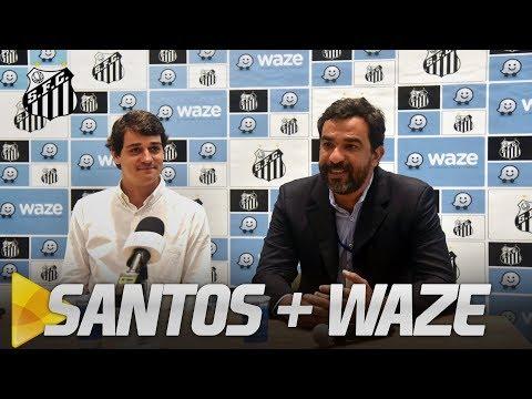 SANTOS ANUNCIA PARCERIA COM WAZE | COLETIVA (27/09/18)