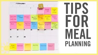 TIPS | Meal Planning thumbnail