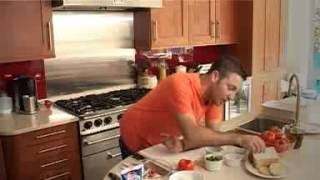 Gino D'acampo Stuffs Tomatoes With Goat Cheese