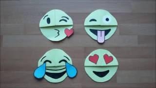 DIY Easy Funny Emoji Bookmarks  | Gör det själv: Roliga Emoji Bokmärken