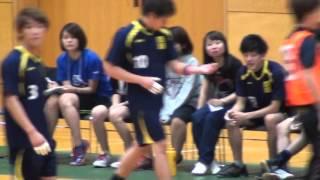 2015年度関東学生ハンドボール秋季リーグ 國學院大學vs埼玉大学