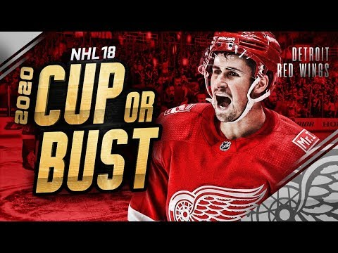 DETROIT RED WINGS REBUILD! 2020 CUP OR BUST (NHL 18 Franchise Mode)