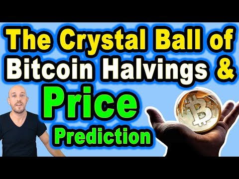 🔵 The Crystal Ball Of Bitcoin Halvings & Price Prediction