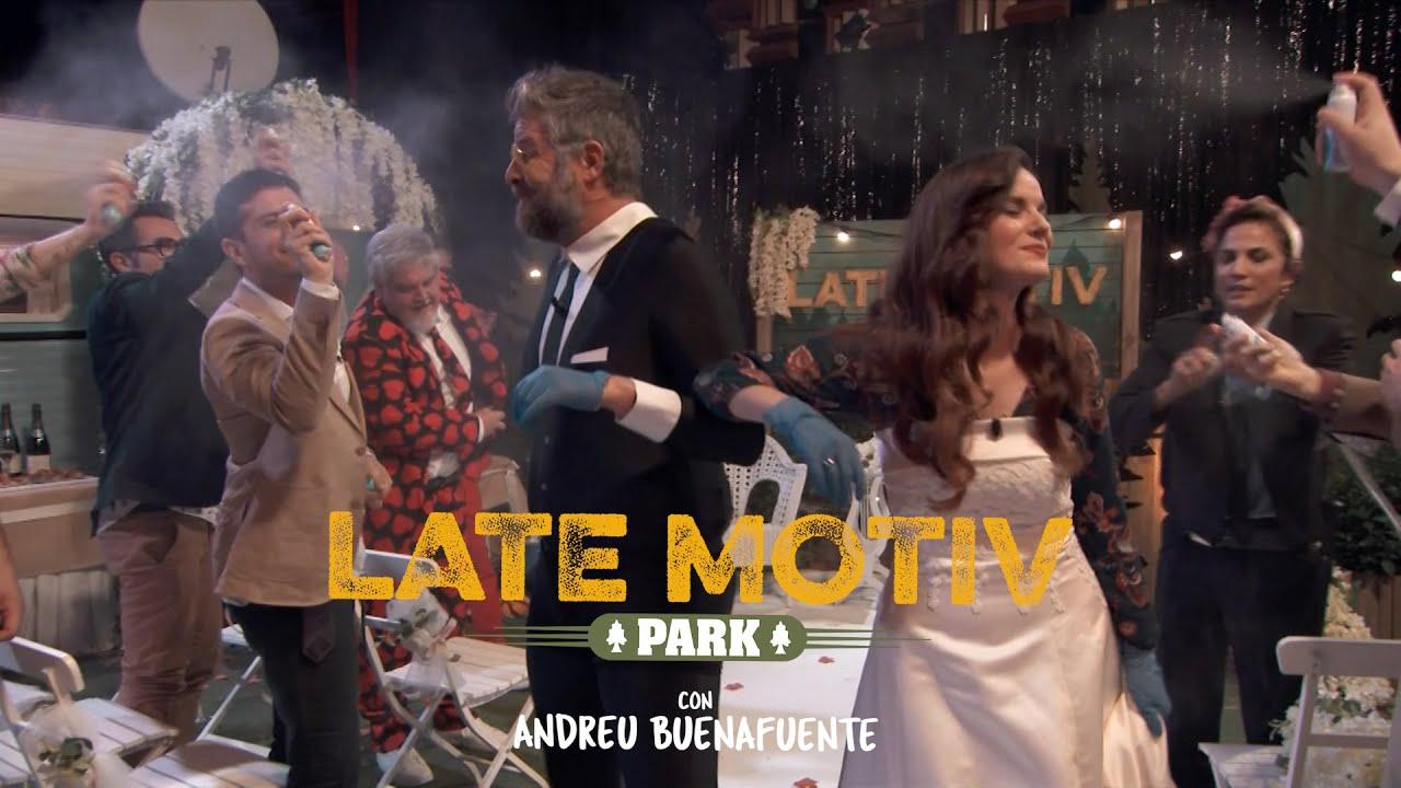 LATE MOTIV - Boda de empresa de Laura Márquez y Raúl Cimas. Final de temporada | #LateMotiv736