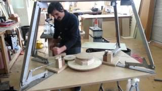 Height Adjustable Table (prototype) - Upside Down