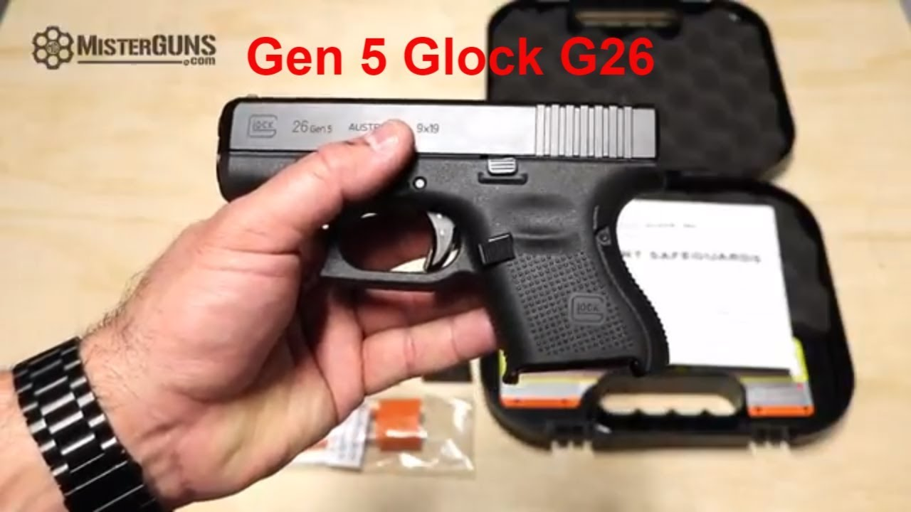 BRAND NEW Glock 26 Gen5 - Features, Shoot, and Review!