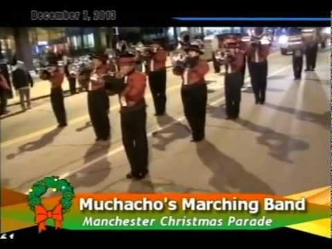 Manchester NH Christmas Parade 12-7-2013