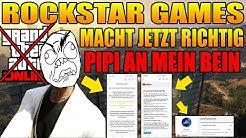 JETZT MACH ROCKSTAR GAMES RICHTIG PIPI AN MEIN BEIN
