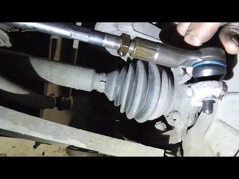 Замена рулевой тяги с наконечником Volkswagen Caddy