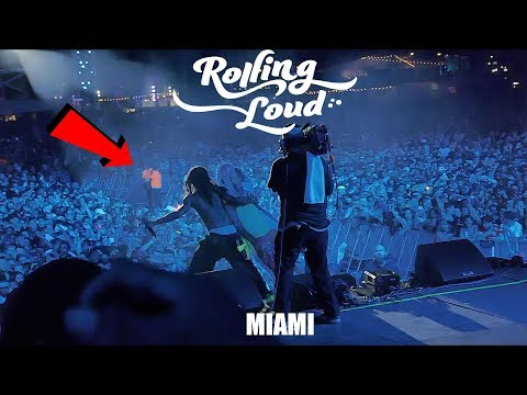 RAE SREMMURD BROUGHT ME ON STAGE AT MIAMI ROLLING LOUD
