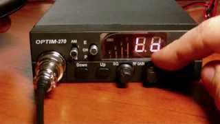 Обзор радиостанции Optim-270