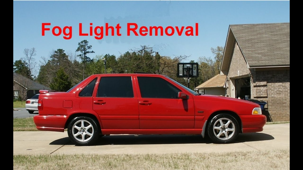 how to remove the fog lights from a volvo s70 v70 xc70 votd [ 1280 x 720 Pixel ]