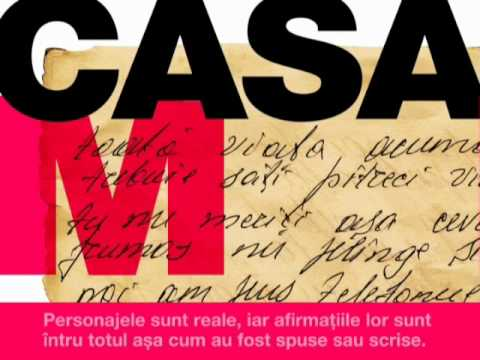 Advertisement for the OSCE Social Theatre Perfomance CASA M