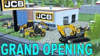 Farming Simulator 17 | New JCB Dealership | Preparing For Grand Opening