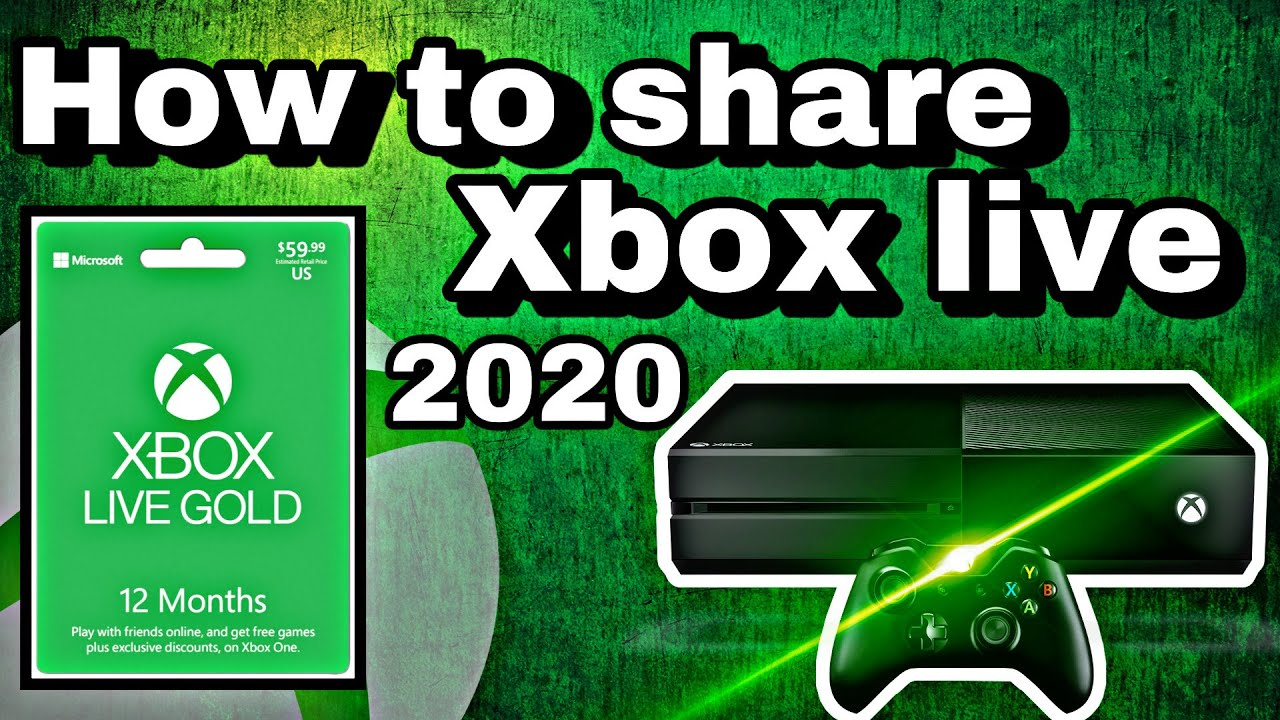 How To Share Xbox Live Gold On Xbox One In 2020 New Updated Tutorial Super Fast And Easy Youtube