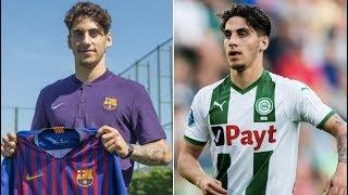 Barcelona sign Ludovit Reis - Promising Dutch midfielder from Groningen